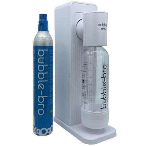 bubble-bro Origin Sparkling Water Maker Starter Kit- White